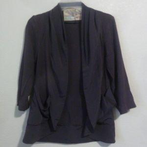 Kimchi Blue Urban Outfitters Grey Purple Cardigan